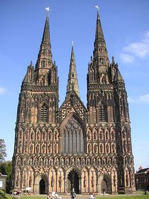 Lichfield Cathedral © Peter Shortall