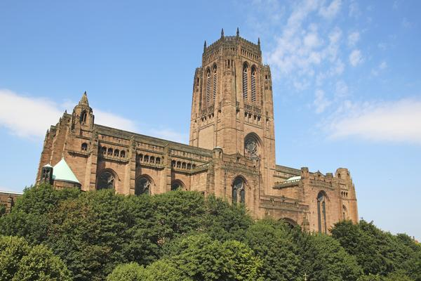 Liverpool Anglican Cathedral, a Grade 1 listed building