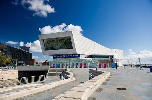 The Museum of Liverpool by the Mersey