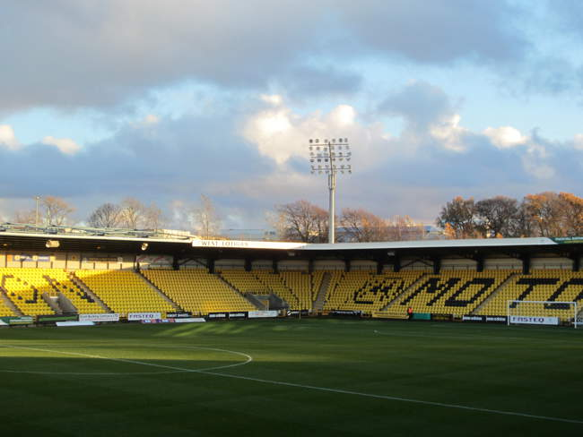 Almondvale Stadium Livingston