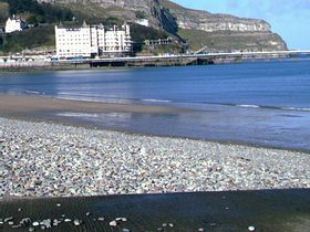 looking from Llandudno promenade to the great orme © Steven Cave