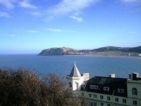 looking over to the little orme from Llandudno © Steven Cave