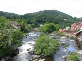 River at LLangollen © Marion Mitchell