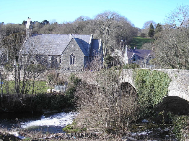 Bridge over Afon Dwyfor