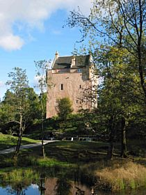 Restored Castle at head of loch (private dwelling) © David Hogg