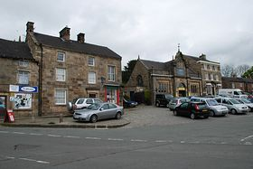 Longnor village by Steve Rhodes