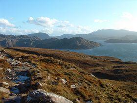 View of countryside around Lower Diabaig © Andy Norvock
