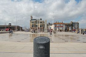 The Royal Plain Fountains at South Pier Opened by The Princess Royal © Colin Jackson