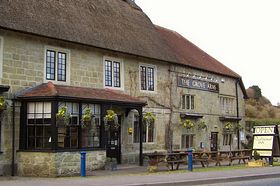 The Grove Arms Pub - Ludwell © Zoran Matic