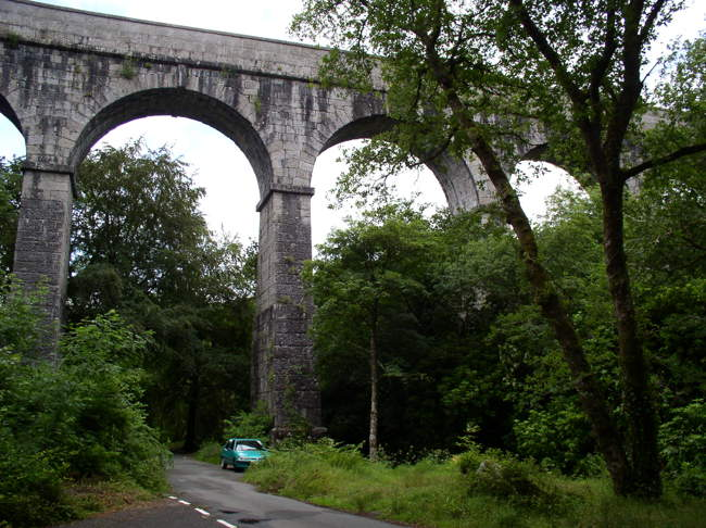 The Treffry viaduct, near Luxulian © Peter Marks