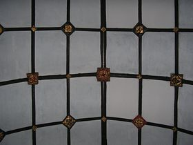Ceiling in the Church © Rod Morris