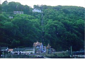 The Cliff Railway Lynton © Dave Wilton