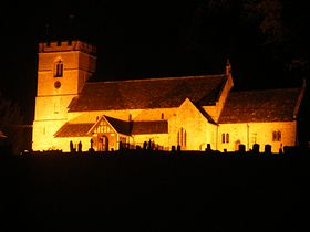 Floodlit Church © Chris H.E. Smith