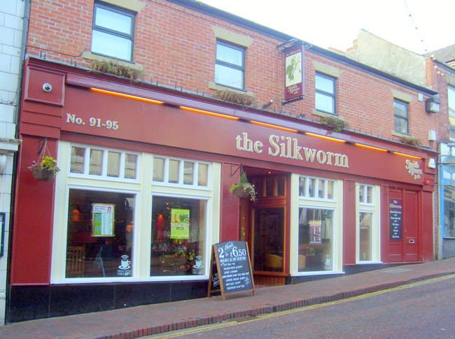 The silkworm pub © Dale Miles