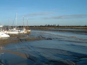 Tide is out at Maldon © Colin Jackson