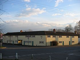 Alms Houses at Margaretting village crossroads © Michael Scott