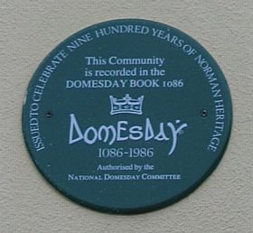 Domesday Plaque at the Crossroads, Margaretting © Michael Scott