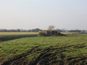 Pill Box Near Mark - Part of the Taunton Stop Line © Rod Morris
