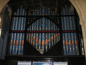 All Saints Organ © Rod Morris