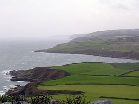View from Maughold Head looking towards Laxey Christopher Jones Photography 2007