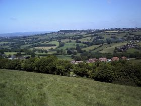 Looking down from Melbury Hill © Tania