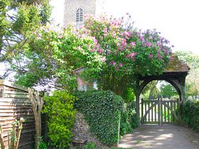 Church Lychgate. © Peggy Cannell