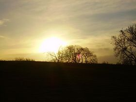 sunrise over milbourne © Ms O'Riordan