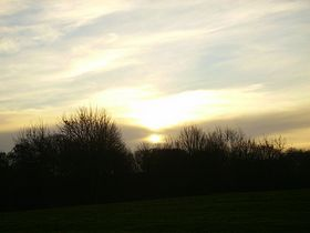 sunset at milbourne © Ms O'Riordan