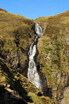 The Grey Mare's Tail, near Moffat, Dumfries and Galloway