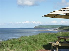 View of St Bees Head and Scotland from Nethertown © Ted Slevin