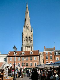 Market Square, Newark-on-Trent © Ted Clark