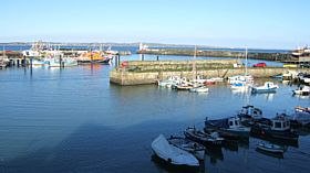 Newlyn Harbour © Anne Tuplin