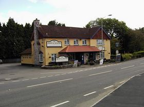 The Crown & Sceptre Newton St Cyres © Daryle Arkwell-Gay