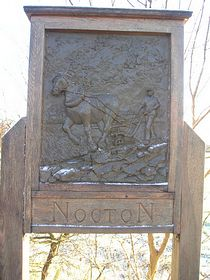 Nocton Village Sign © Geoff Hall