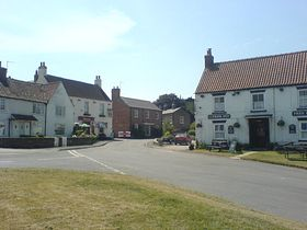 Both pubs taken from village green North Newbald © Gregg Anderson