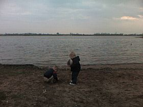 Chasewater, Norton Canes has its very own beach © Will Stirling