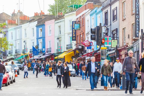 Shops and Cafes in Notting Hill