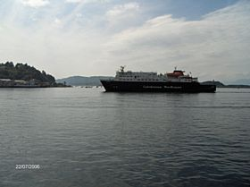 Mull Ferry Arriving in Oban © James Craig