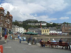 Oban Harbour, Town & Folly © James Craig