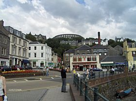 Oban Town Scene © James Craig