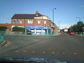 Walker Road St. Anthonys road junction © Keith Laws