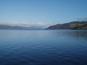 Looking up Loch Fyne from Otter Ferry © Tom Andrew