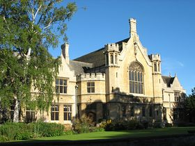 The Great Hall, Oundle School. built 1908 © Roger Gurney