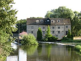 Barnwell Mill and lock, R.Nene, Oundle. © Roger Gurney