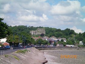 Oystermouth Castle © Philip Cookson