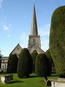 Painswick Church  © Sibylle Seidel-Pottiez