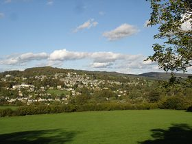Looking on painswick from the south  © Sibylle Seidel-Pottiez