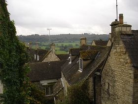 Painswick, looking towards Bull's cross  © Sibylle Seidel-Pottiez