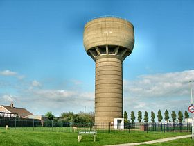 The Water Tower © Peggy Cannell