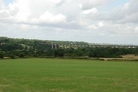 Crimple Valley Viaduct from Pannal © Mr Philip Moon (HKt.B)